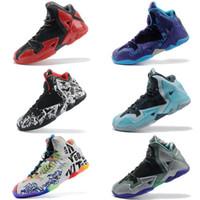 zapatillas de baloncesto hombres lebron 11 al por mayor-generación de combate de los hombres de baloncesto de los niños zapatos gris al aire libre zapatos de baloncesto lebron 11 deportes