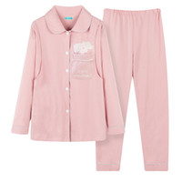 беременная пижама оптовых-Cute Nursing Pajamas Breastfeeding Shirt+ Pregnancy Pants Maternity Clothes for Pregnant Women Lounge Sets 2019 Spring Pink Blue