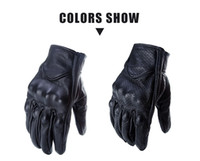 Wholesale gloves motorcycle leather glove resale online - Supply non standard leather gloves locomotive motorcycle racing riding off road motorcycle gloves gloves leather
