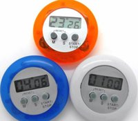 neuheit digitale küche timer großhandel-2019 neuheit digital küche timer Küchenhelfer Mini Digital LCD Küche Countdown Clip Timer Alarm