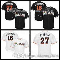 Wholesale jose fernandez jersey online - Men s Miami Giancarlo Stanton  Jerseys Marlins Jose Fernandez Baseball aac7ccf1889