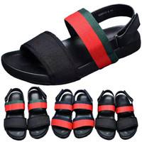 Wholesale new italian slippers for sale - Group buy New Italian Designer Golden Bee Slipper Summer Beach flip flop Black Casual Sandals Shoes Indoor Non slip Mens Sports Loafer For Women Walk
