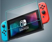çizilmeye dayanıklı ekran toptan satış-Kalite Temperli Cam Göz Koruma Ekran Koruyucu Için Nintendo Anahtarı 9 H 2.5D 0.3mm Patlamaya dayanıklı HD Anti-Çizik Filmi Paketi BFM015