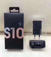beste iphone ladekabel großhandel-2 in 1 Schnellladegerätinstallationssätze 5V 2A Schnellladewandladegerät + bestes 1.2m Kabel S10 Typ C EP-TA200 mit Kleinpaket für Samsung S8 S9 s10