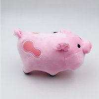 Wholesale kid doll toy online - Gravity Falls Plush Toys Cute Pig Stuffed Animals Doll Kids Birthday Gifts cm Cartoon Fashion tx F1