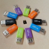 Wholesale phone reader for sale - Group buy Dedicated Mobile Phone Memory Card Reader TF Card Reader Small Multi purpose High speed USB S D Card Reader