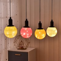 Wholesale string lighting for bedrooms for sale - Group buy Simple Line Ball Hanging Lamps Waterproof LED String Light Battery Decorative Night Lanterns For Bedroom Living Room rc E1