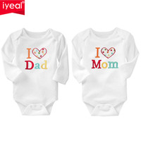 Wholesale cute embroidered baby clothes resale online - Iyeal Newborn Baby Clothing Long Sleeve Cotton Embroider Baby Rompers Girls Boys Clothes Roupas De Bebe Infantil Costumes m J190524
