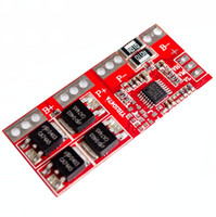 Wholesale protected lithium ion battery pcb resale online - Freeshipping S A Max Li ion Lithium Battery V Charger Protection Board PCB BMS Batteries Protecting Module