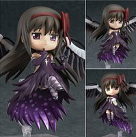 Wholesale puella figure for sale - Group buy NEW hot cm Q version Puella Magi Madoka Magica Akemi Homura movable action figure toys collection christmas toy doll with box