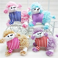 Wholesale toy poodle resale online - Poodle Animals Stuffed Toys Pug Dog Plush Toys Dogs Cos Cosplay Stuffed Dolls soft stuffed doll Great gift for kids