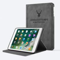 nuevas cubiertas magnéticas ipad al por mayor-Funda de cuero PU original original 1: 1 para iPad Pro 9.7 2018 iPad Air 2 4 Funda ultra delgada con funda trasera para iPad Mini 5 432