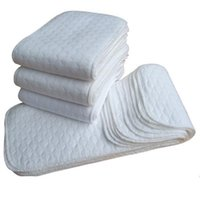 Wholesale ecological diapers resale online - Baby Products Absorbent Folding Cotton Cotton Newborn Diapers Baby Ecological Safe Soft Diapers