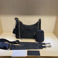Wholesale leather shoulder pack resale online - 2020 Deisigner shoulder bag for women Chest pack lady Tote chains handbags presbyopic purse messenger bag designer handbags canvas
