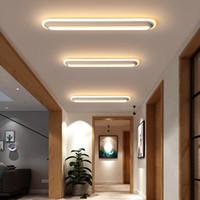 ingrosso luce della sala fredda-Moderno e minimalista striscia plafoniera corridoio balcone corridoio corridoio nordico nella sala guardaroba luce led portico luce di soffitto Le103