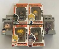ingrosso portachiavi per giocattoli-Pop Portachiavi Toy Dragon Ball Great Ape Vegeta Majin Vegeta Super Saiyan Goku Broly Gotenks Beerus Vinyl Figures Pocket Pop portachiavi