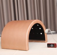 Wholesale portable infrared sauna weight loss for sale - Group buy Portable heating infrared sauna dome Slimming Whitening Detox Weight Loss DHL TNT