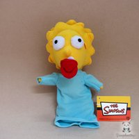 Wholesale cloth figures for sale - Group buy Simpsons Doll Plush Toys Present Cute Children Toy Girl Birthday Gifts Stuffed Good Quality