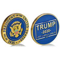 2020 President Donald Trump Gold Plated Coin - Make Liberals Cry Again Commemorative Coins Badge Token Craft Collection