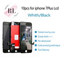 Wholesale lcd panel module for sale - Group buy 10PCS LCD screen for iPhone Plus LCD display digitizer screen touch module screens LCDS replacement