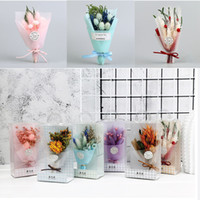 Wholesale rings decoration for sale - Group buy Handmade Flowers Artificial Flowers Wedding Banquet Articles Birthday Gifts Decoration DIY Ring Gift Box Scrapbook Fake