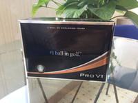 palos de golf de calidad al por mayor-Clubes de bolas de golf de primera calidad nuevas bolas PRO de 12pcs / box Club de bolas de tres piezas V1 Golf PRO V1