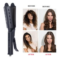 Wholesale electronic steps for sale - Group buy Fast Hair Straightener Straightening Comb Hair Straightener Fashion Major Flats Electronic Four Steps Temperature for Beauty