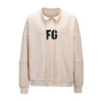 logoblöcke großhandel-2019 beste Version FG 6. Art FG Logo, das Frauen Männer Sweatshirt Hoodie Hiphop Streetwear Männer übergroßer Hoodie-Pullover blockiert