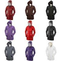 gänsehaut mantel verkauf großhandel-Frauen weiße Gänsedaunen Warm Outdoor Sport Daunenjacke der Frau Qualitäts-Winter-Kälte im Freien Ski Park Mantel auf Verkauf