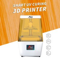 Wholesale uv printing machine resale online - Anet N4 UV LCD D Printer Machine Fully Assembled Innovation with K HD Inch Smart Colored Touchscreen U Disk Off line Print