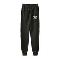 новые модные брюки оптовых-Dracarys мода печатных Бегун брюки женщины / мужчины повседневная уличная длинные брюки 2019 новое прибытие горячие продажи модные спортивные брюки 4XL