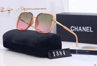 Wholesale ladies glasses cases resale online - 2020 High quality New summer fashion vintage sunglasses women Brand designers womens sunglasses ladies sun glasses with cases and box