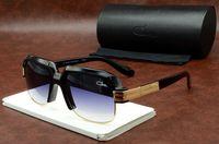Wholesale resin clear resale online - Hot New Fashion Vintage Driving Sunglasses Men Women Sports Designer Sqaure Sunglasses Gradient Gafas de sol Fashions Sun Glasses