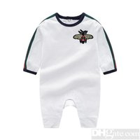 Wholesale autumn baby products for sale - 2019 Round Neck Cotton Uniform Clothing New Newborn Baby Romper Boy Girl Clothes Long Sleeve Infant Product Spring Autumn