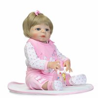 Wholesale voodoo girl for sale - Group buy Bebe Reborn Doll Reborn Full Vinyl Babies Doll For Girls CM Realistic Soft Alive Reborn Baby Doll For Kids Playmate