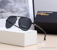 Wholesale american metal coatings online - 19 New European and American Fashion Brand Luxury Designer Male Polaroid High end Polarized Sunglasses for High Definition Business