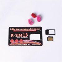 mobil cdma gsm toptan satış-RSIM13 ios12 iPhone Max XR için kart kilidini açmak X r sim 13 R-SIM 13 Akıllı Aktivasyon kilidini sim kart iccid açma iPhone 6/7/8 IOS12