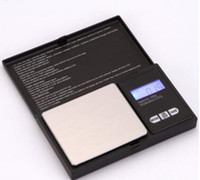 Wholesale personal digital scale resale online - 200g g g g Black Pocket Size Electronic LCD Digital Personal Precision Jewelry Scale Diamond Gold Balance Weight Scales