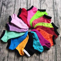 Wholesale girls love socks resale online - Pink Black Socks Love Ankle Socks Multicolors Cheerleaders Sports Short Sock Girls Women Cotton Sports Socks Pink Football Sneaker