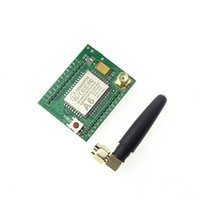 Wholesale wireless gprs online - Freeshipping GPRS module GSM module A6 SMS Speech board wireless data transmission adapter plate