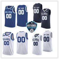 c585eaf0104 Mens Custom NCAA Villanova Wildcats Basketball Jersey Jahvon Quinerly Collin  Gillespie Joe Cremo Tim Saunders Peyton Heck Villanova Jersey