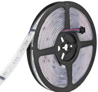led rgb dijital sihirli şerit toptan satış-DC 12 V 6803 Dijital IC 133 Sihirli Rüya Renk LED Esnek RGB Şeritleri Işık 30LED / m IP67 Tüp Su Geçirmez SMD 5050 Bant Lamba LLFA