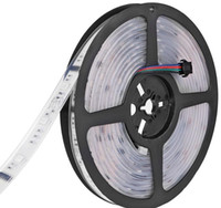 ingrosso ha condotto la striscia magica digitale del rgb-DC 12V 6803 Digital IC 133 Magic Dream Color LED strisce RGB flessibili Light 30LED / m IP67 Tube Waterproof SMD 5050 Tape Lamp LLFA
