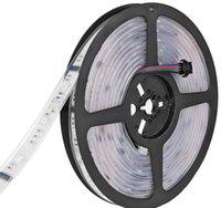tira de magia digital led rgb al por mayor-DC 12V 6803 IC digital 133 Sueño mágico LED Tiras de luz RGB flexibles Luz 30LED / m IP67 Tubo impermeable SMD 5050 Lámpara de cinta LLFA