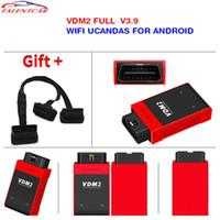tableta automotriz al por mayor-2017 Nueva WIFI explorador automotor UCANDAS VDM2 VDM II Sistemas completos para el teléfono Android Tablet VDM2 Ucandas soporte multi-idioma