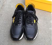 ingrosso vendita di scarpe sportive di marca-2019 Top Quality FD Luxury FUN FUR scarpe da ginnastica di design in vera pelle regalo uomo donna Racer vendita calda sport casual stivali Nuove marche