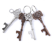 Wholesale keychain beer can bottle opener for sale - Group buy Vintage KeyChain Key Chain Beer Bottle Opener Coca Can Opening tool with Ring or Chain DHL Shipping Free