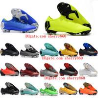 nouvelles chaussures de football d'arrivée achat en gros de-2019 mens super Mercurial VI 360 XII Élite FG Neymar chaussures de football Ronaldo chaussures de football chuteiras CR7 scarpe calcio Nouvelle arrivée