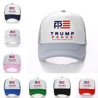 Wholesale punk boy cap resale online - Unisex Donald Trump Ball Cap President Adjustable Hat Hip Hop Punk Snapbacks USA Caps Baseball cap printed letter Hats Color D3402