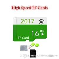 capacidade de flash usb 128gb de memória venda por atacado-REINO UNIDO Atacado 100% da capacidade real Genuíno Novo 16G Micro Cartões Cartão de Memória Class10 Usb Flash TF Cartão de Flash 16 GB 128 gb